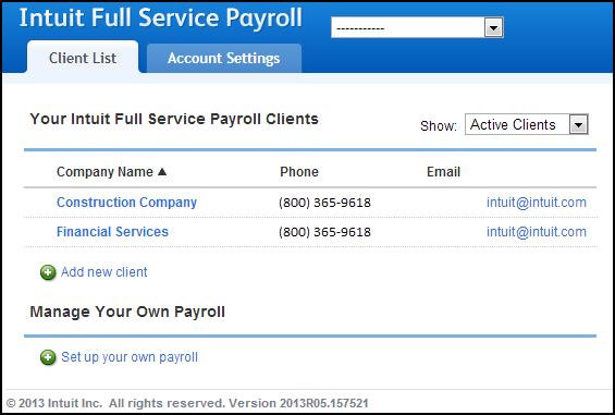 Image Gallery intuit payroll