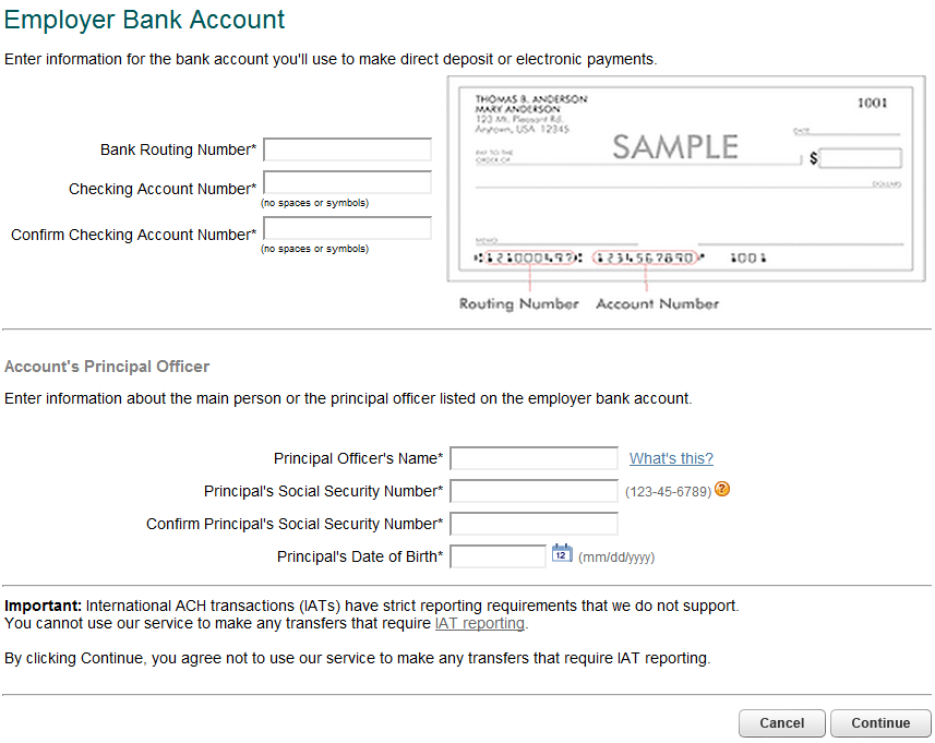 Form new authorization for direct deposit form quickbooks for Direct deposit forms for employees template