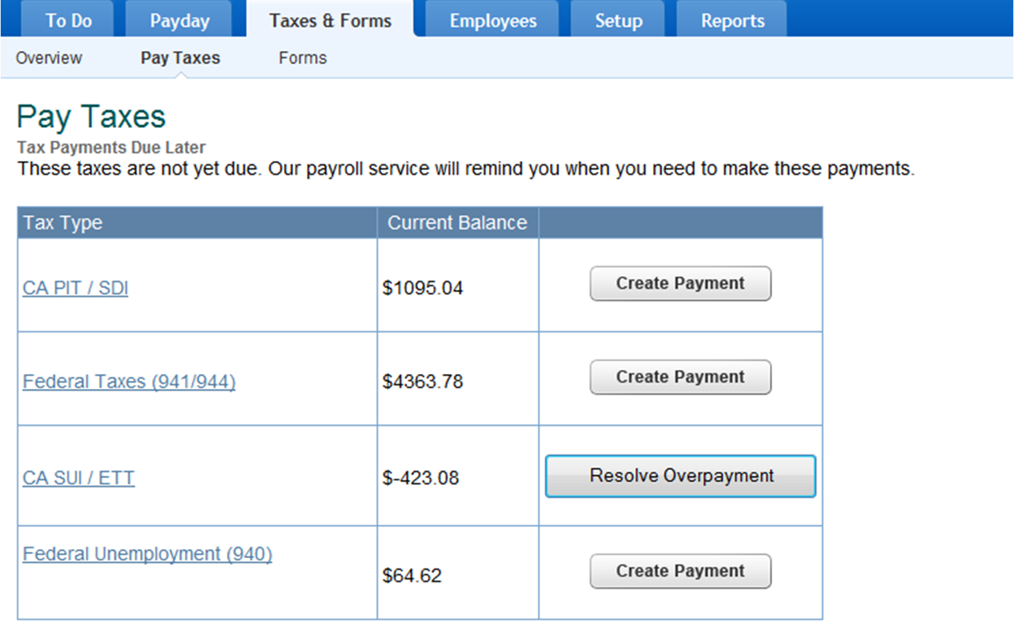 Intuit Payroll Images - Reverse Search
