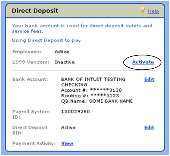 Sign Up And Set Up Direct Deposit For Independent Contractors