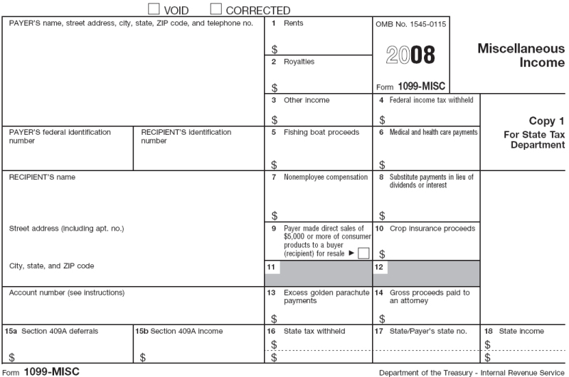 Download free 1099 forms 2014 ggetergo for W2 template 2013