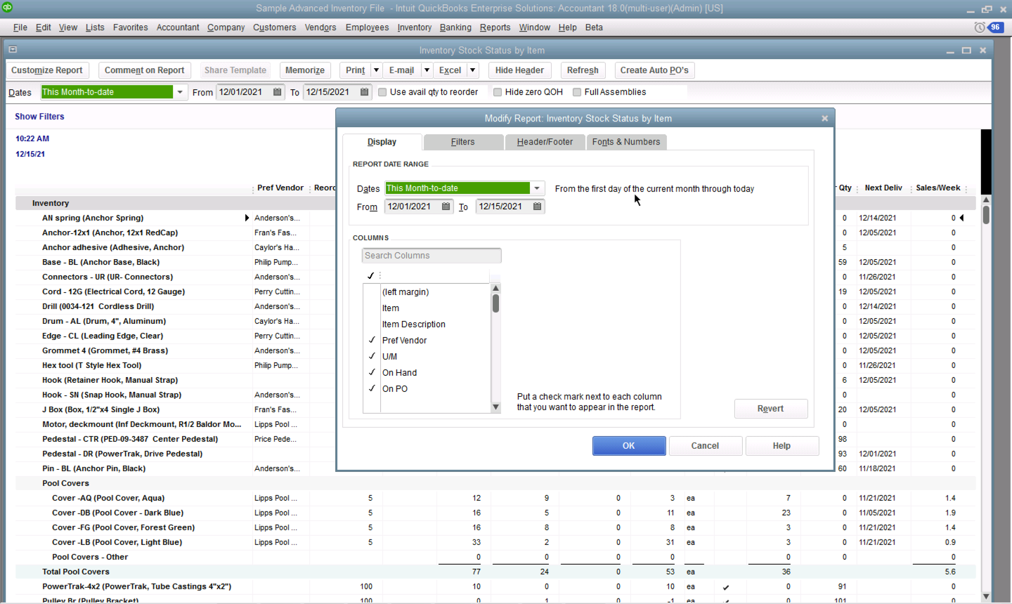 Inventory Management And Software System Quickbooks