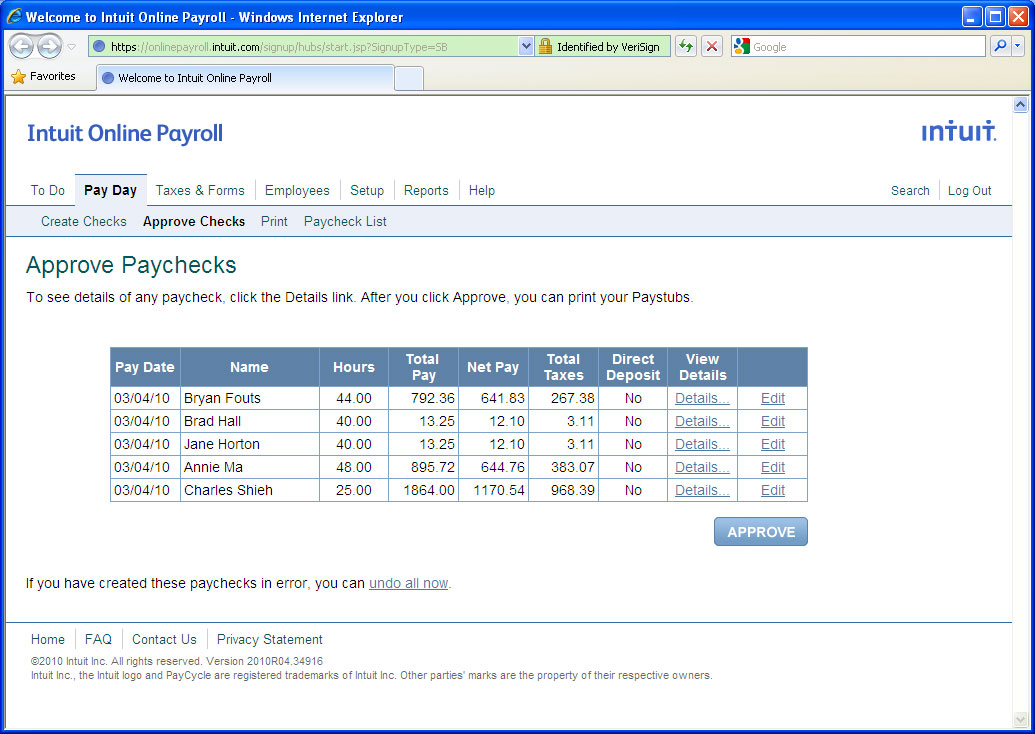 quickbooks payroll download software