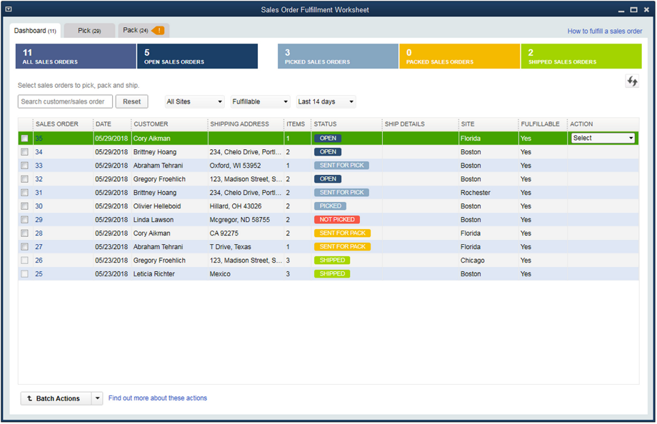 Order Management Systems & Fulfillment Software - QuickBooks