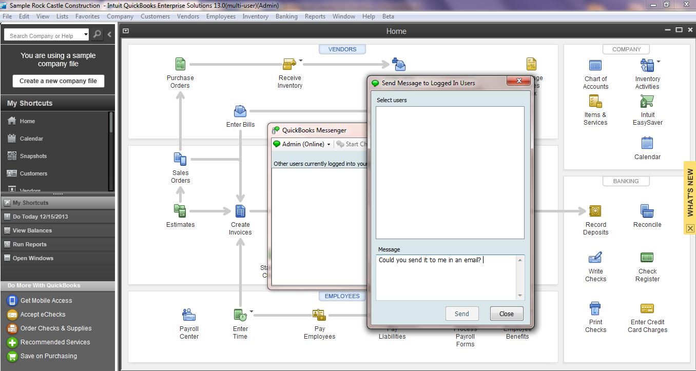 Quickbooks Desktop Enterprise Security Amp Productivity